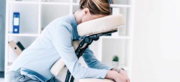 Massage assis et gestion du stress