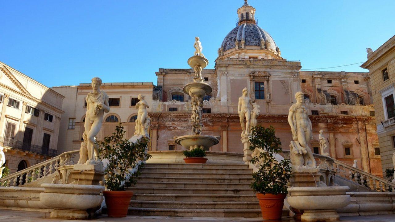 Palerme bienvenue au royaume du soleil en Italie